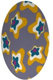 rug #680130 | oval graphic rug