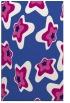 rug #680273 |  blue-violet graphic rug