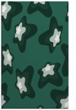 rug #680301 |  green graphic rug