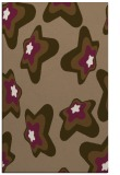 rug #680321 |  mid-brown graphic rug