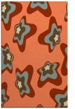 rug #680365 |  orange graphic rug