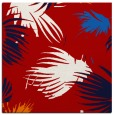rug #681465 | square red natural rug