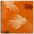 rug #681485 | square red-orange natural rug