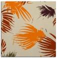 rug #681541 | square orange natural rug