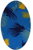 rug #681745   oval blue popular rug