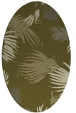rug #681909 | oval light-green rug
