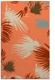 rug #682125 |  orange natural rug