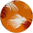rug #682473   round orange popular rug