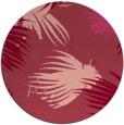 rug #682497 | round pink rug