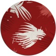 rug #682529   round red natural rug