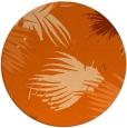 rug #682541   round red-orange natural rug