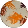 rug #682597 | round beige natural rug
