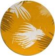rug #682617 | round light-orange natural rug