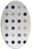 rug #685140 | oval circles rug