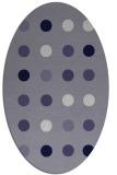 rug #685185 | oval circles rug