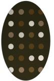 rug #685276 | oval circles rug