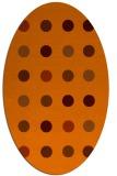 rug #685356 | oval circles rug