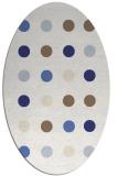 rug #685377   oval white circles rug