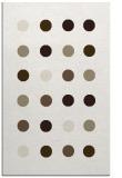 rug #685449    beige circles rug