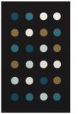 rug #685469 |  brown circles rug