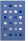 rug #685489    blue retro rug