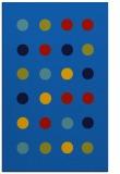 rug #685617 |  blue circles rug