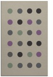 rug #685629 |  purple circles rug