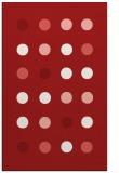 rug #685697 |  red circles rug