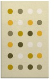 rug #685737 |  yellow circles rug