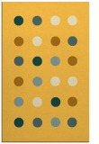 rug #685753 |  yellow circles rug