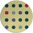 rug #686005 | round circles rug