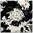 rug #688269 | square black graphic rug