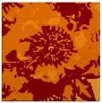 rug #688453 | square red-orange natural rug