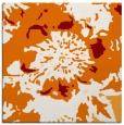 rug #688457 | square orange natural rug