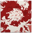 rug #688513 | square red graphic rug