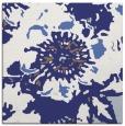 rug #688545 | square blue natural rug