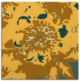 rug #688569 | square light-orange graphic rug