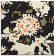 rug #688573   square black graphic rug