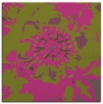 rug #688593 | square light-green graphic rug