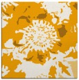rug #688601 | square light-orange graphic rug