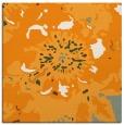 rug #688609 | square light-orange graphic rug