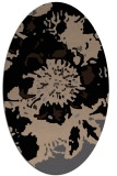 rug #688629 | oval beige natural rug