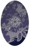 rug #688706 | oval graphic rug