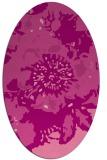 rug #688826 | oval graphic rug