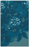 rug #689021 |  blue-green graphic rug