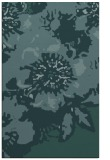 rug #689041 |  blue-green graphic rug