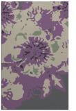 rug #689149 |  purple graphic rug