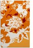 rug #689161 |  orange graphic rug