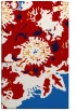 rug #689209 |  red graphic rug
