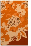 rug #689229 |  red-orange graphic rug